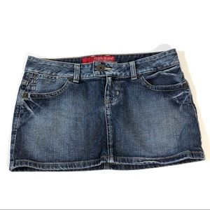 Guess Denim Stretch Mini Skirt